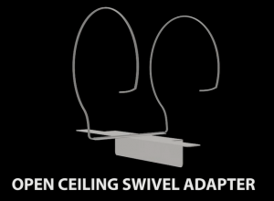 open ceiling swivel adapter 1